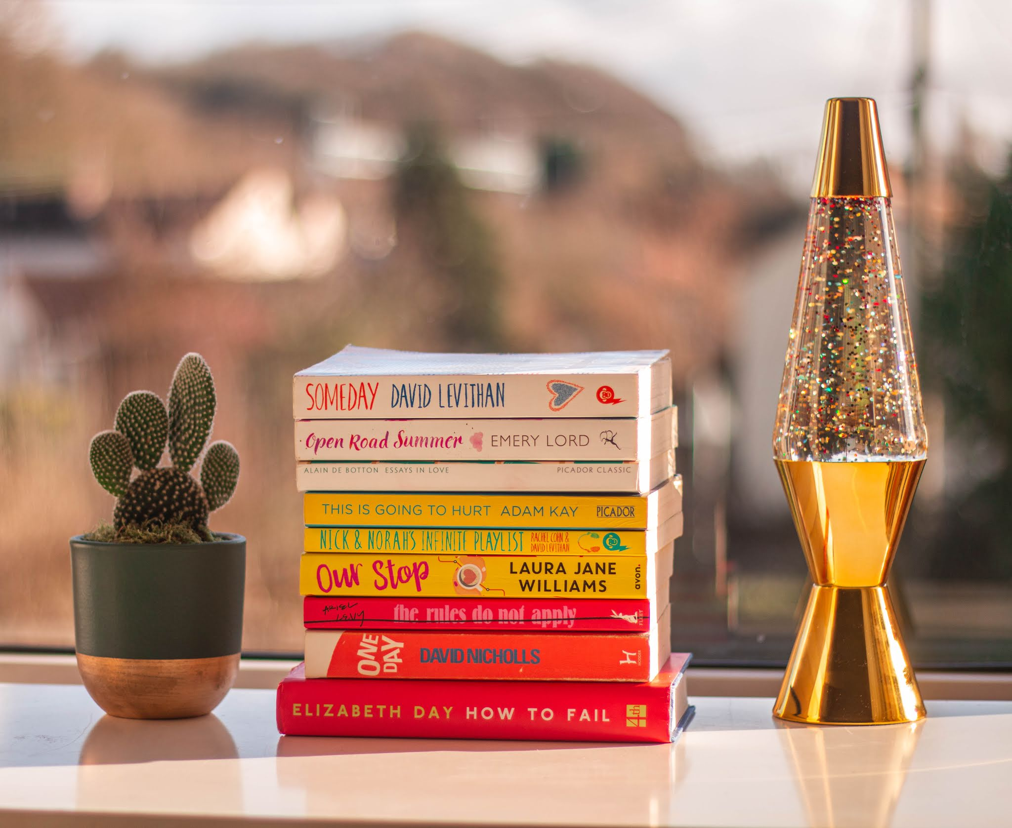 every book i read in 2019 - pile of books - book blogger