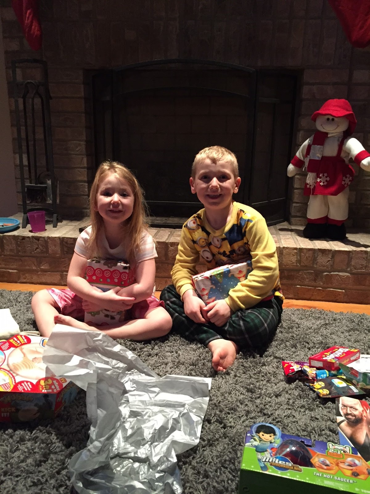 The Rennie Crew: Christmas Morning