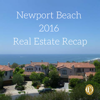 Newport Beach 2016 Real Estate Recap by realtor cindy hanson