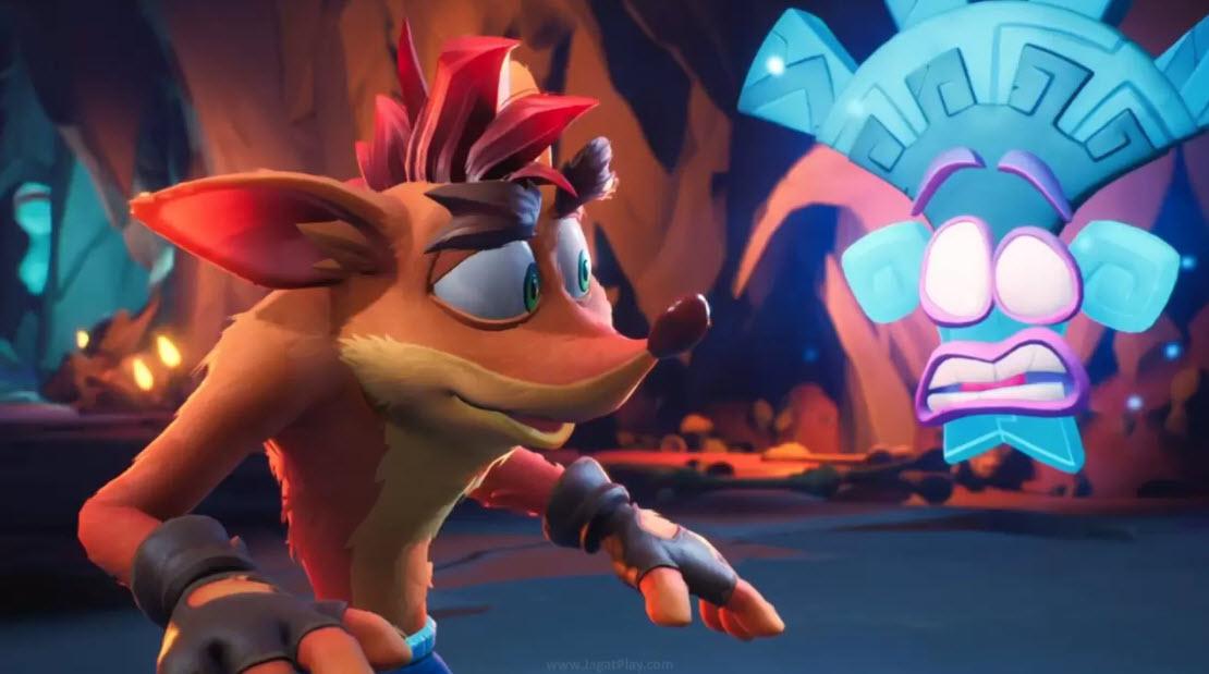 "Di tengah ruang dan waktu, Crash kini mendapat bantuan dari ""teman baru""."