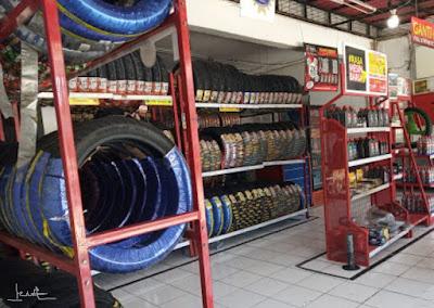 Toko ban motor Surabaya