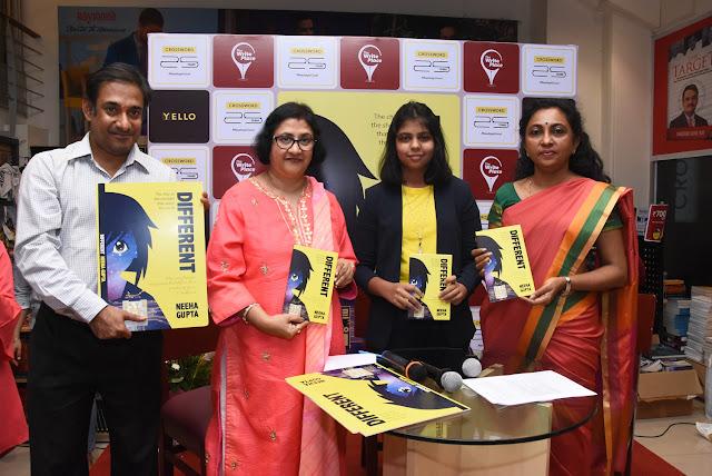 LTR : Prasad Sangameshwaran, Arundhati Bhattachary, Author Neeha Gupta and Dr Varsha Rokade