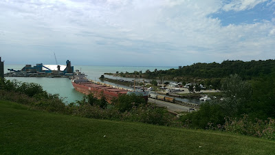 View of the harbour of Goderich