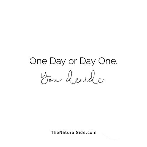 30 Inspirational Quotes to Motivate You to Be Successful. Positive VIbes & Motivational Quotes via thenaturalside.com | one day or day one | #quotes #success #inspiration #dream