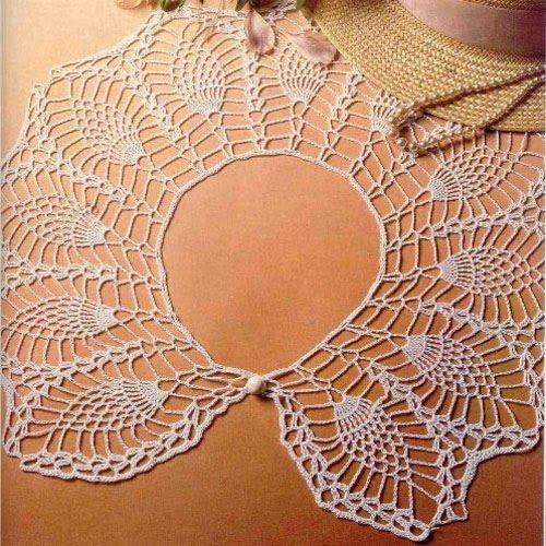 patrones-cuello-crochet-piñas