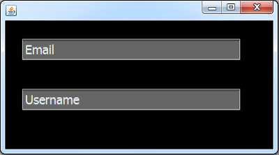 Placeholder String In Java