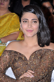 Shruti Haasan At Premam Movie Audio Launch (15).JPG