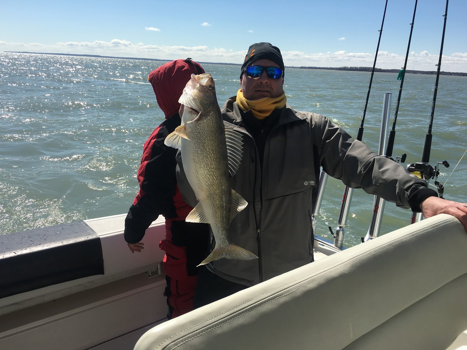 Lake erie walleye fishing reports for Odnr fishing report