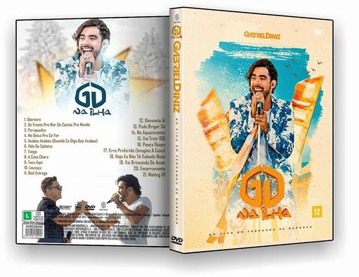 DVD – Gabriel Diniz GD Na Ilha Ao Vivo Em Fernando de Noronha – ISO