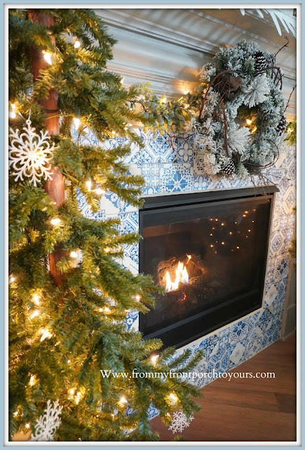 Winter- Fireplace -Mantel -Design-Cottage-Style-Farmhouse-Style-DIY-From My Front Porch To Yours