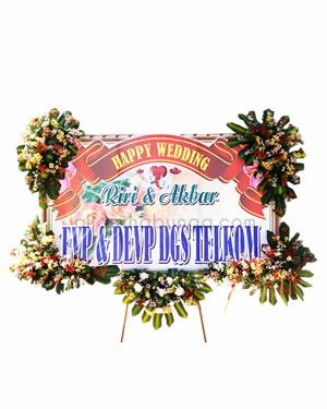 Bunga Papan Wedding PWP4