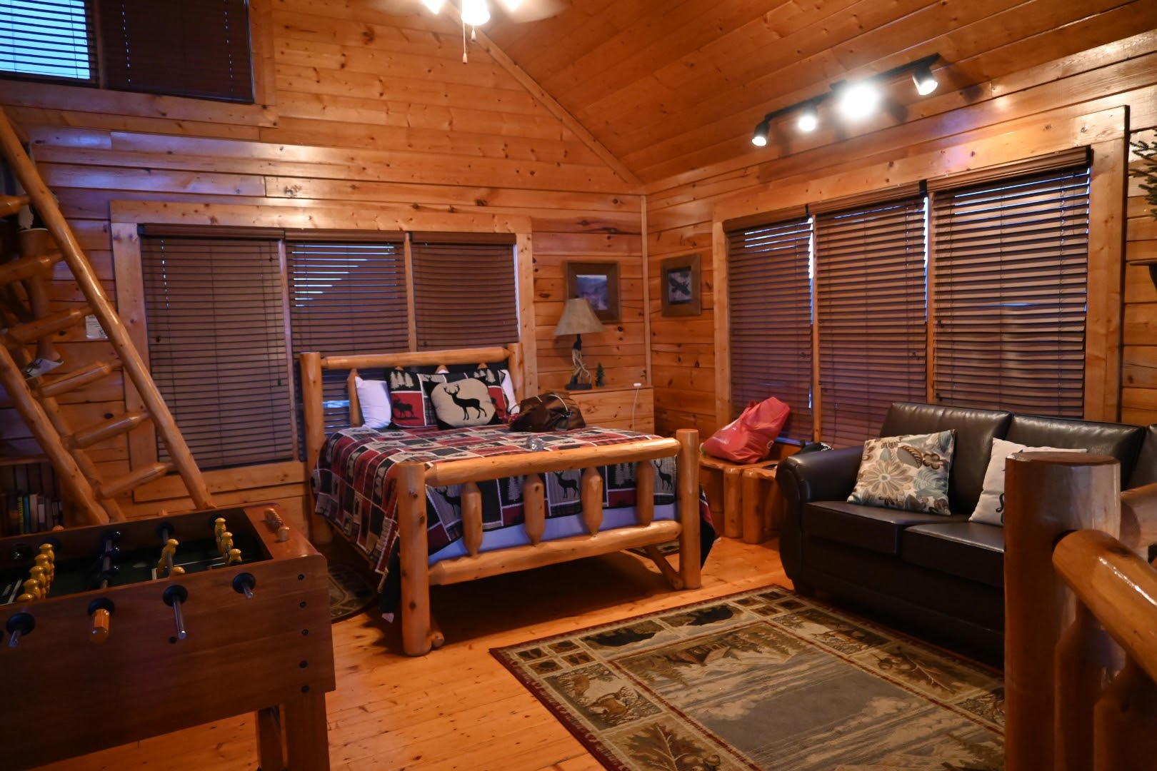 Staying in a Log Cabin in Sevierville, TN