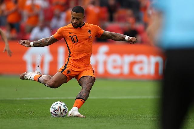Netherlands forward Memphis Depay
