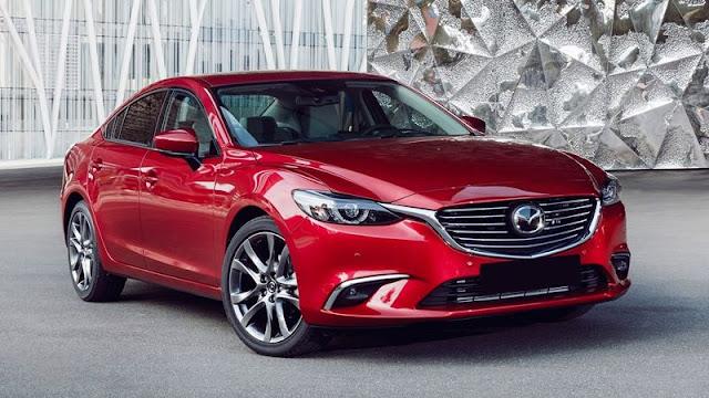 Mazda 6 facelift 2019