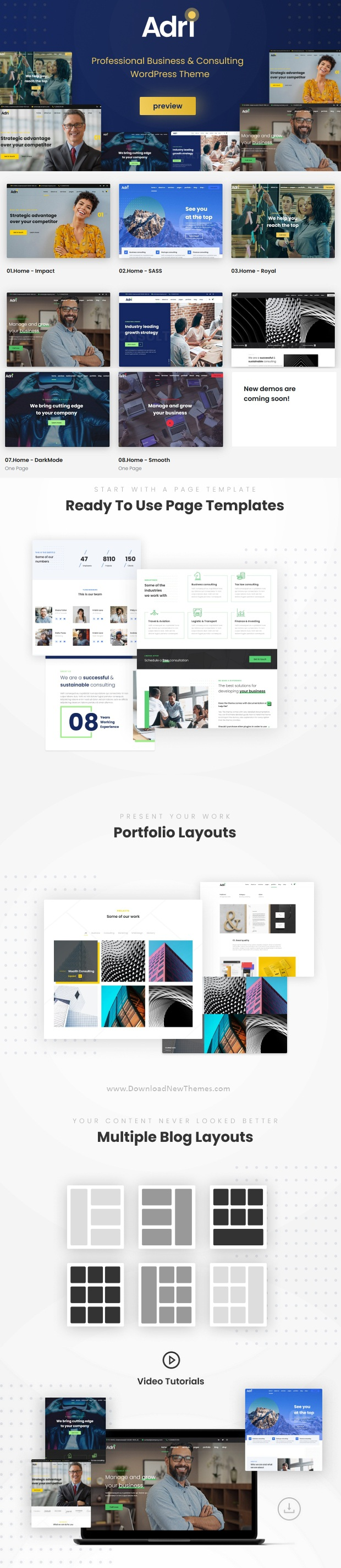Business and Consulting WordPress Theme