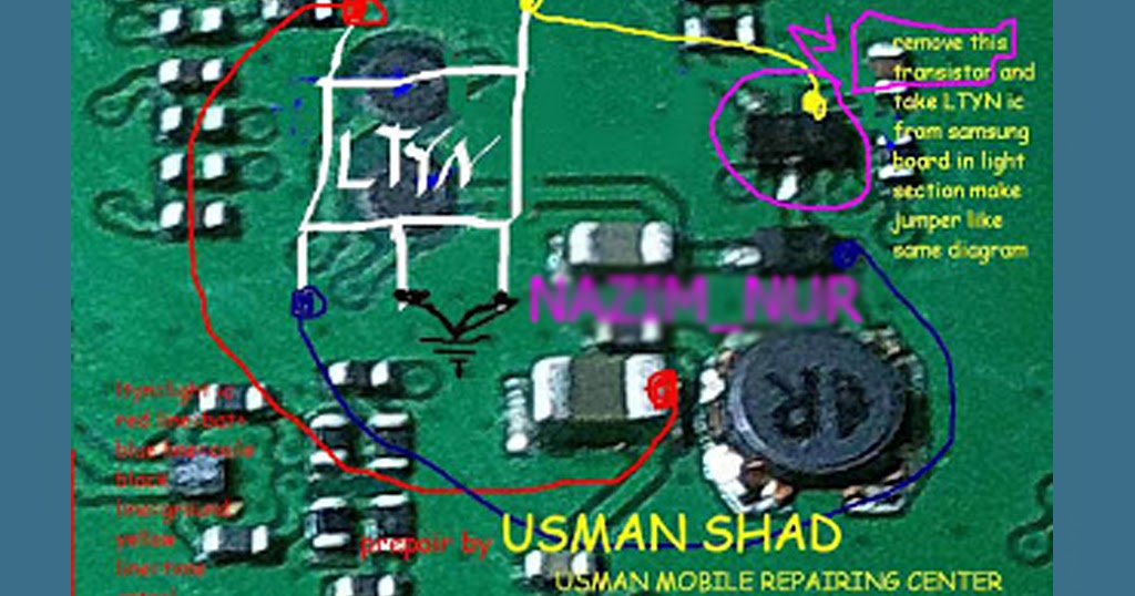 diagram of an atom with labels 3 phase rotary switch wiring nokia c1-00 lcd light jumper solution - electronic repairing