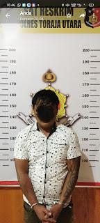 Timsus Singgallung Polres Toraja Utara Tangkap pelaku yang mengaku bisa Lepaskan Tahanan