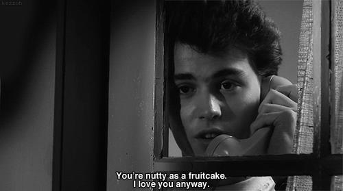 Nightmare On Elm St Quotes: You're Nutty As A Fruitcake I Love You Anyway
