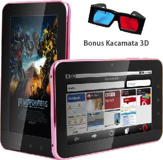 Pixcom menghadirkan tablet Android terbarunya yaitu Pixcom AndroTab Core Pixcom AndroTab Core: Tablet 3D, Prosesor 1.5 GHz, Harga Terjangkau