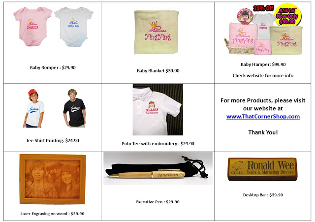 Collage of products Pg 2