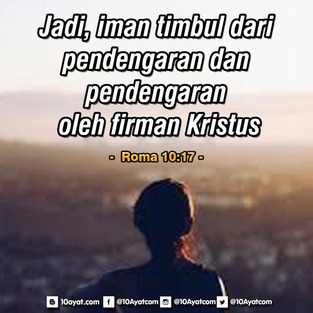 Roma 10:17