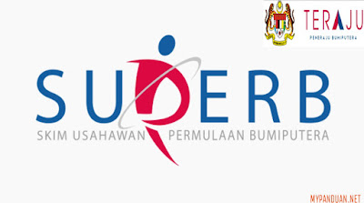 Permohonan SUPERB Skim Permulaan Usahawan Bumiputera 2018 Online