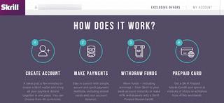 Skrill,افضل ,بدائل بنك PayPal, للمدونين,اصحاب الاعمال الحرة ,