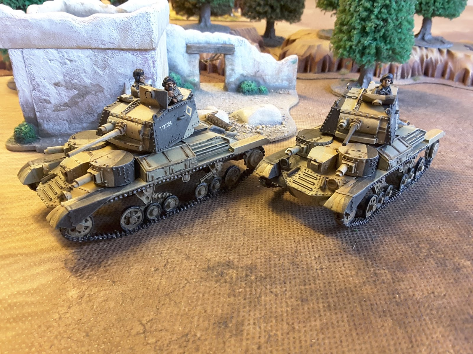 The Analogue Hobbies Painting Challenge: KenR : 28mm WW2 A9