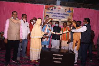 थांदला बनेगा जिले का सर्वश्रेश्ठ नगर - सांसद गुमानसिंह डामोर