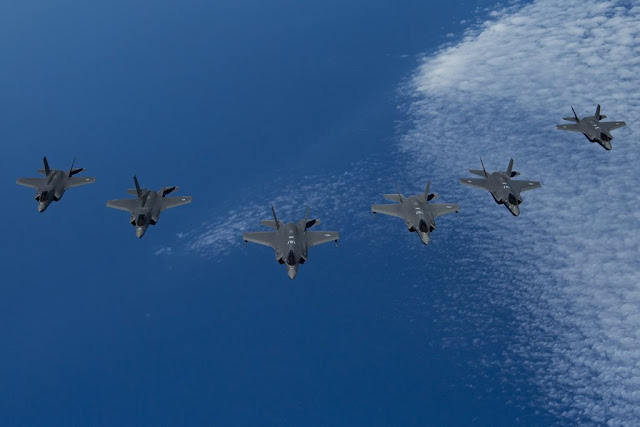 Three nations F-35 exercise