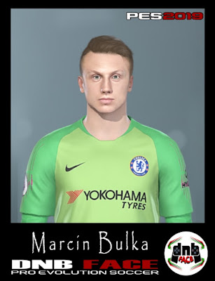PES 2019 Faces Marcin Bulka by DNB