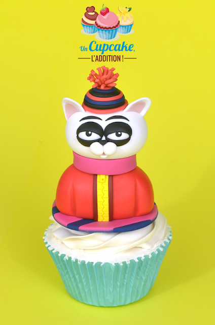 Cupcakes « Les Chats de James Frye » - Kubrick the Cat I