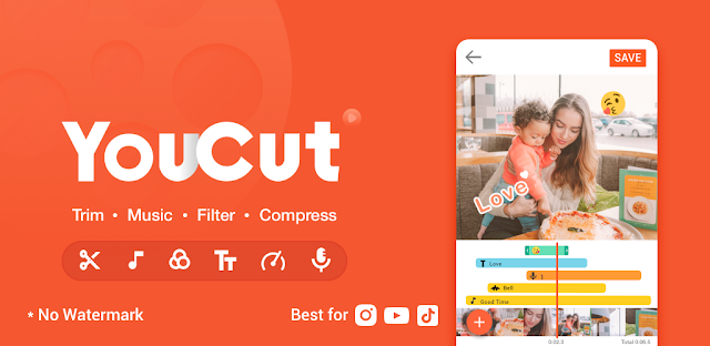 YouCut Video Editor للكمبيوتر YouCut Video Editor Pro APK YouCut Video Editor for PC