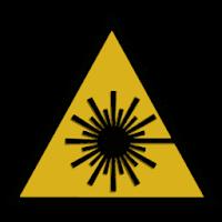 Laser Hazard hazard sign