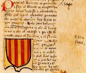 El Señal Real en el Libro del conocimiento (h. 1385)