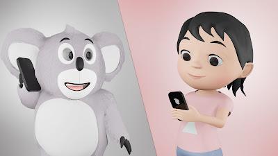 Animasi 3D anak