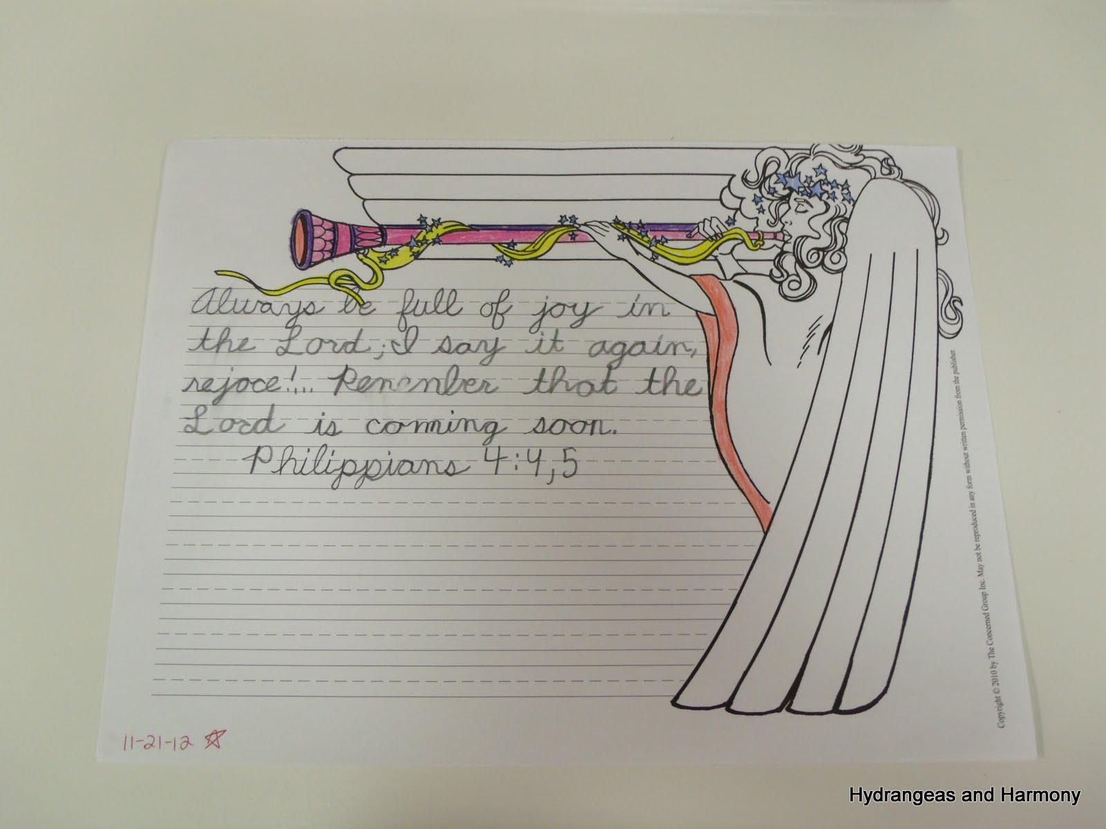 Hydrangeas And Harmony School Days Summary The 10