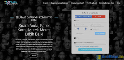 Tampilan baru website survey online ThePanelStation | SurveiDibayar.com