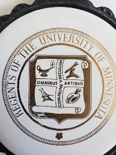 Ceramic Round Trivet Regents of Univercity of Minnesota
