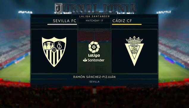 Prediksi Sevilla vs Cadiz , Sabtu 23 Januari 2021 Pukul 22.15 WIB
