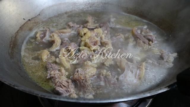 Asam Pedas Daging Tetel Yang Sedap