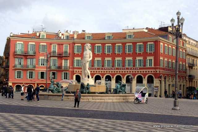zonas comerciales de Niza