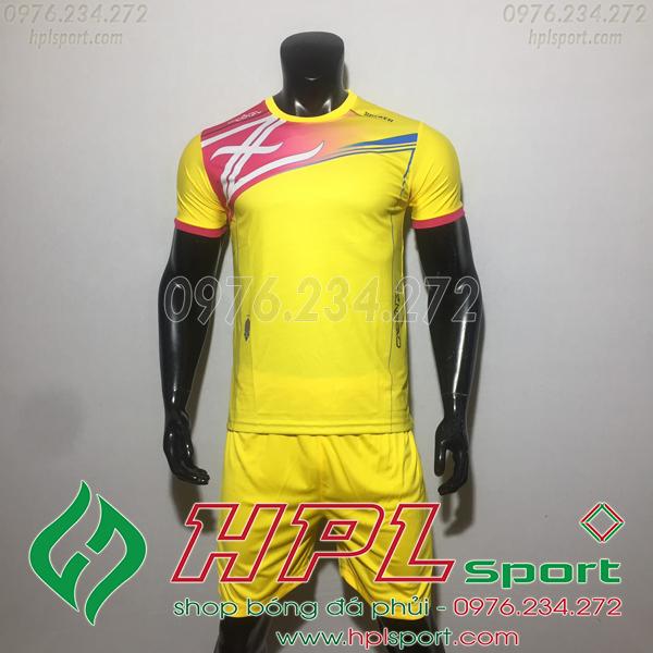 Áo bóng đá ko logo Zavikia HAT TA Màu Vàng
