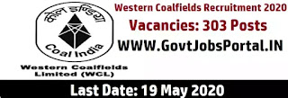Western Coalfields Recruitment 2020