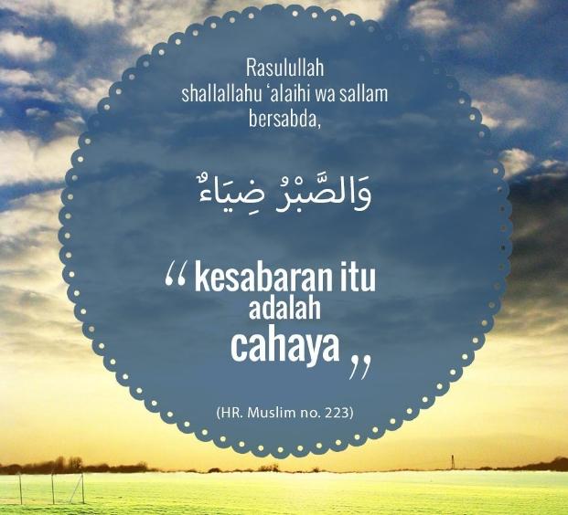 Kata Mutiara Sabar Dalam Islam Quotemutiara