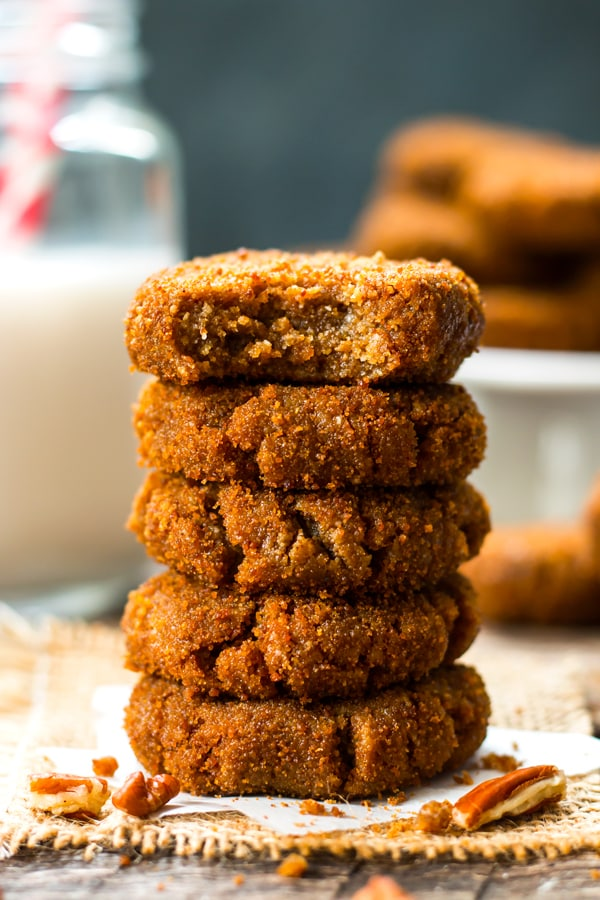 no bake paleo molasses cookies