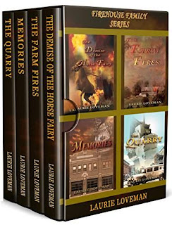 Firehouse Family Mysteries Books One to Four - a Mystery and Thriller by Laurie Loveman
