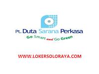 Lowongan Kerja Karanganyar November 2020 di PT Duta Sarana Perkasa (DUSASPUN)
