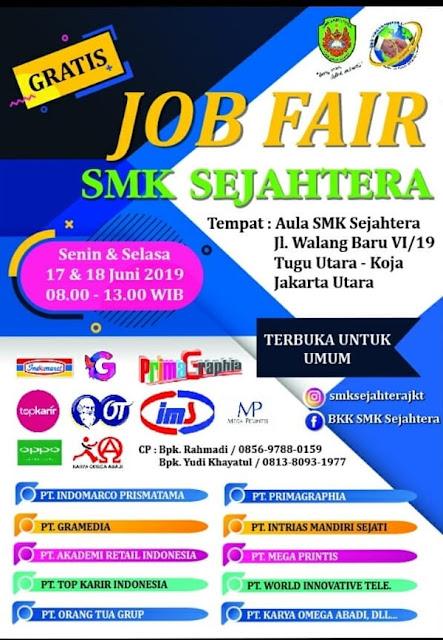 Lowongan Kerja SMA / SMK di Jakarta