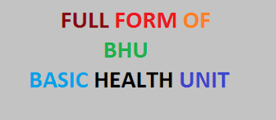 10 Basic BHU Full Forms | You Must Learn About